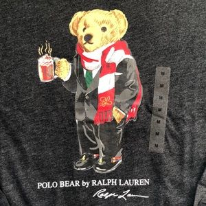 POLO RALPH LAUREN LONG SLEEVES TEE (M)